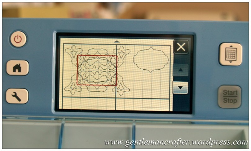 Scan It Saturday - Creating Decorative Sentiment Plaques With The Brother Scan N Cut - 50