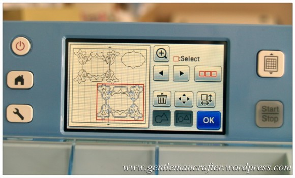Scan It Saturday - Creating Decorative Sentiment Plaques With The Brother Scan N Cut - 60