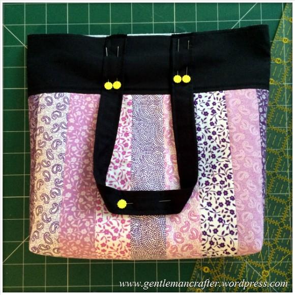 Fabric Friday - Fat Quarter Fun - Part 1 - Fabric Strip Handbag