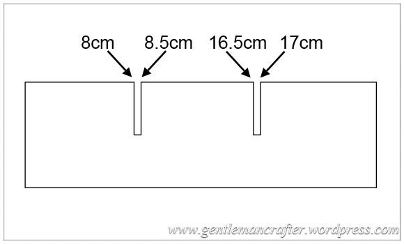 Monday Mash Up - DIY Tim Holtz Distress Inpad Storage - Shelf Measurements