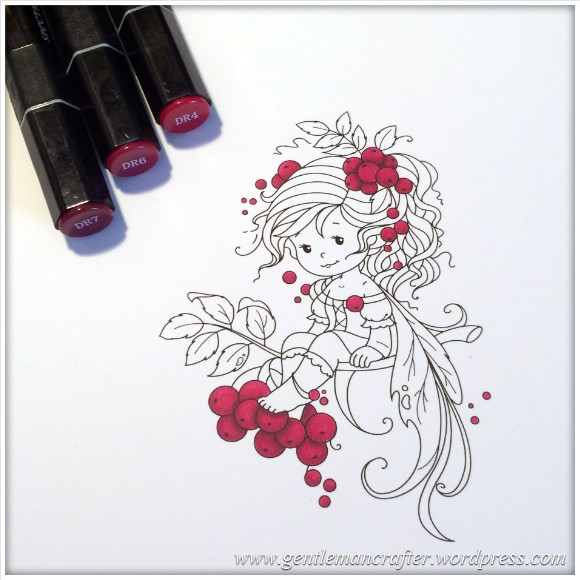 Monday Mash Up - Everybody Loves A Fairy - Spectrum Noir Colouring Guide - 1