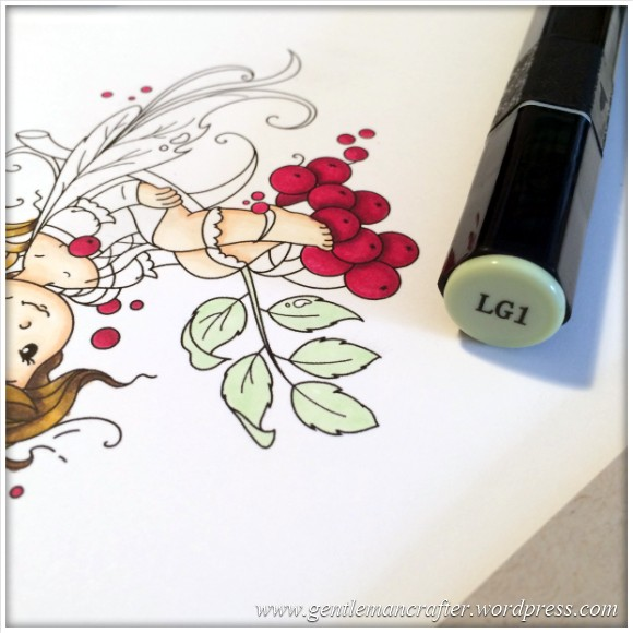 Monday Mash Up - Everybody Loves A Fairy - Spectrum Noir Colouring Guide - 10