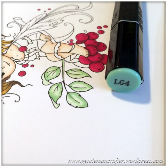 Monday Mash Up - Everybody Loves A Fairy - Spectrum Noir Colouring Guide - 12