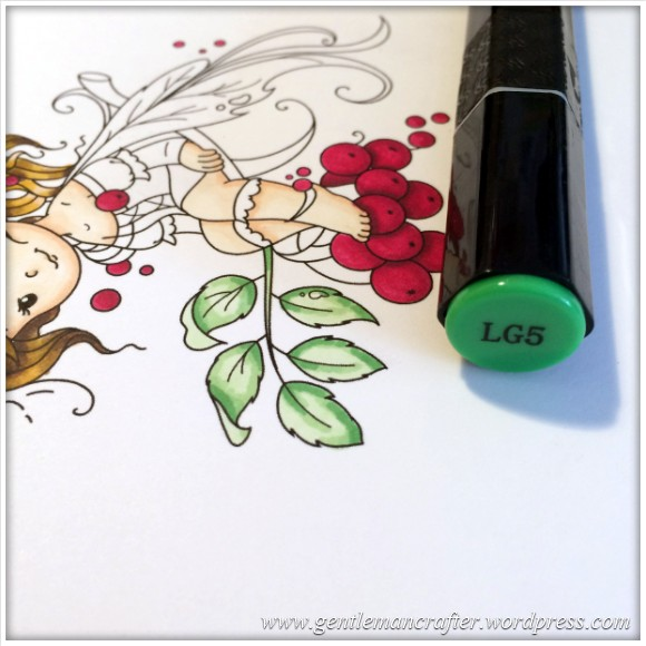 Monday Mash Up - Everybody Loves A Fairy - Spectrum Noir Colouring Guide - 13