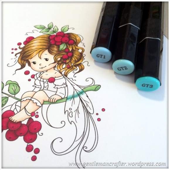 Monday Mash Up - Everybody Loves A Fairy - Spectrum Noir Colouring Guide - 16