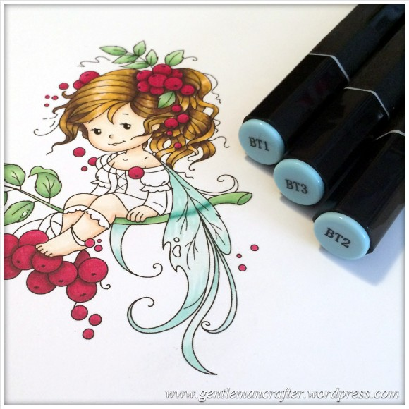 Monday Mash Up - Everybody Loves A Fairy - Spectrum Noir Colouring Guide - 17