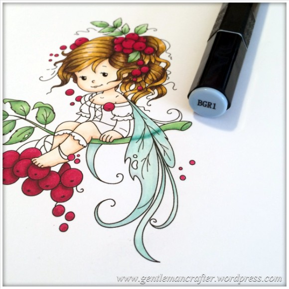 Monday Mash Up - Everybody Loves A Fairy - Spectrum Noir Colouring Guide - 18