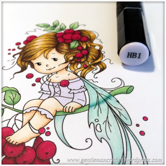 Monday Mash Up - Everybody Loves A Fairy - Spectrum Noir Colouring Guide - 19
