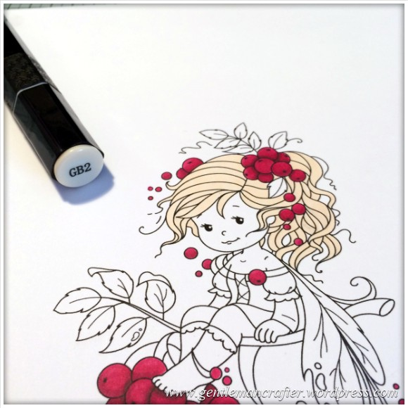 Monday Mash Up - Everybody Loves A Fairy - Spectrum Noir Colouring Guide - 2