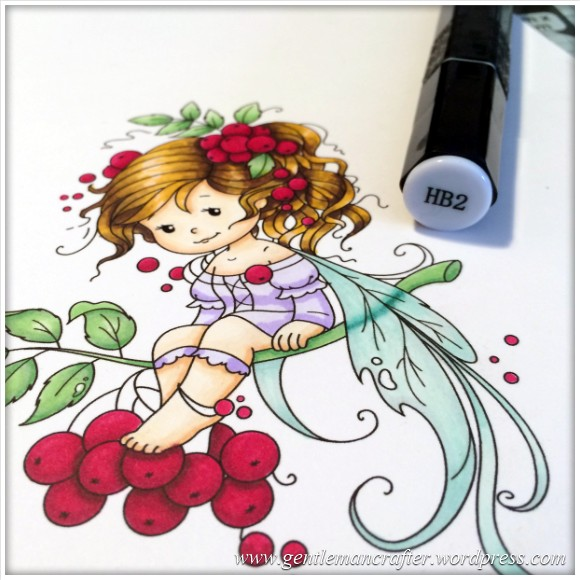 Monday Mash Up - Everybody Loves A Fairy - Spectrum Noir Colouring Guide - 20