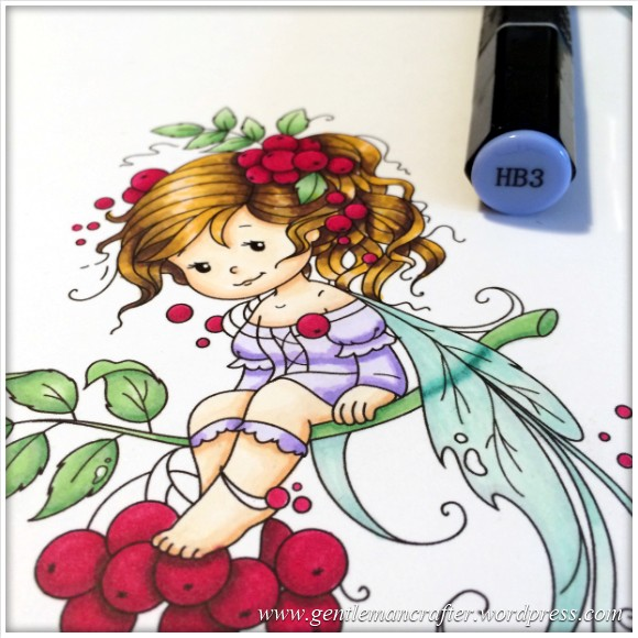 Monday Mash Up - Everybody Loves A Fairy - Spectrum Noir Colouring Guide - 21