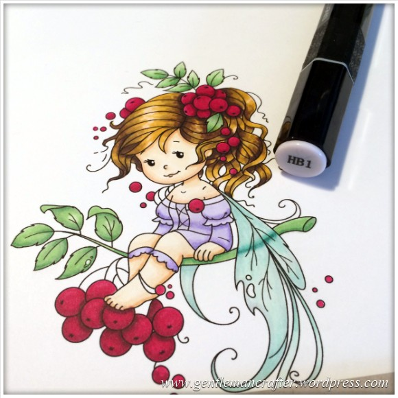 Monday Mash Up - Everybody Loves A Fairy - Spectrum Noir Colouring Guide - 22
