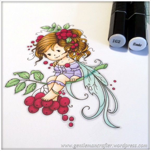 Monday Mash Up - Everybody Loves A Fairy - Spectrum Noir Colouring Guide - 23