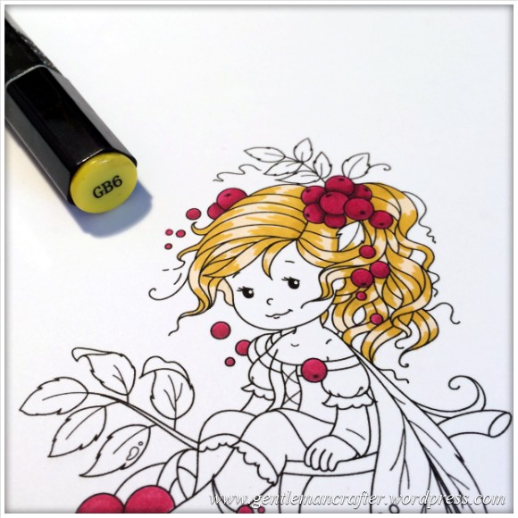 Monday Mash Up - Everybody Loves A Fairy - Spectrum Noir Colouring Guide - 3