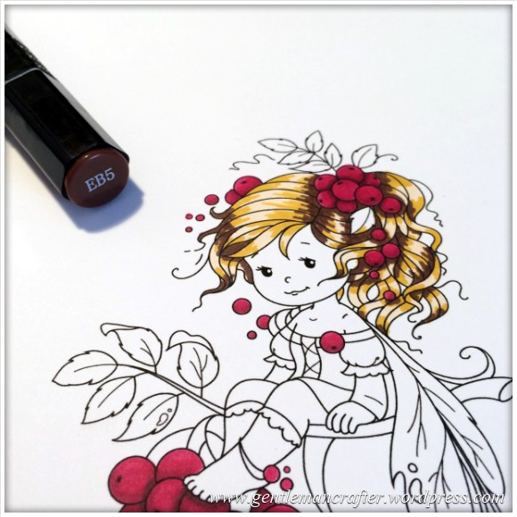 Monday Mash Up - Everybody Loves A Fairy - Spectrum Noir Colouring Guide - 4