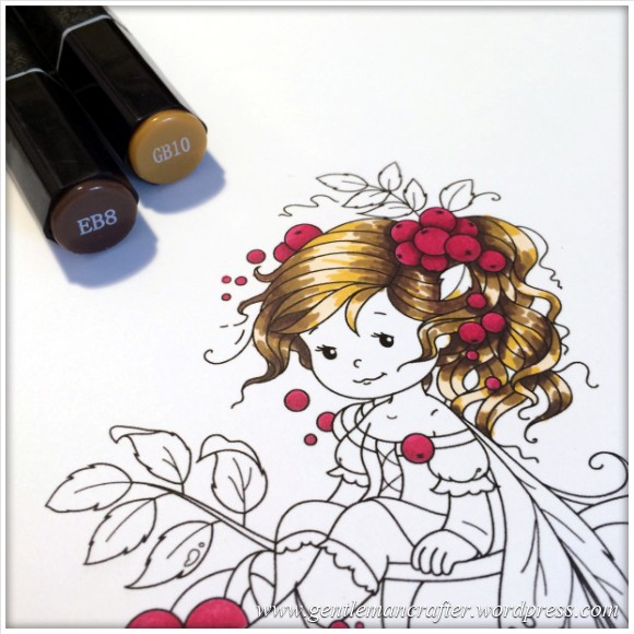 Monday Mash Up - Everybody Loves A Fairy - Spectrum Noir Colouring Guide - 5