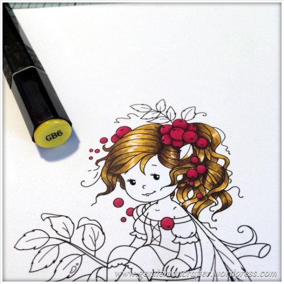 Monday Mash Up - Everybody Loves A Fairy - Spectrum Noir Colouring Guide - 6