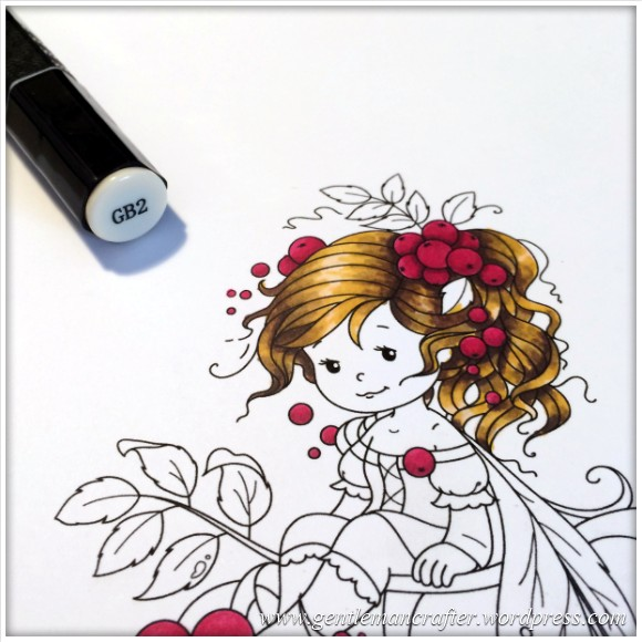 Monday Mash Up - Everybody Loves A Fairy - Spectrum Noir Colouring Guide - 7
