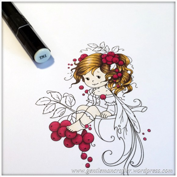 Monday Mash Up - Everybody Loves A Fairy - Spectrum Noir Colouring Guide - 8
