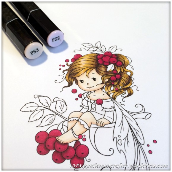 Monday Mash Up - Everybody Loves A Fairy - Spectrum Noir Colouring Guide - 9