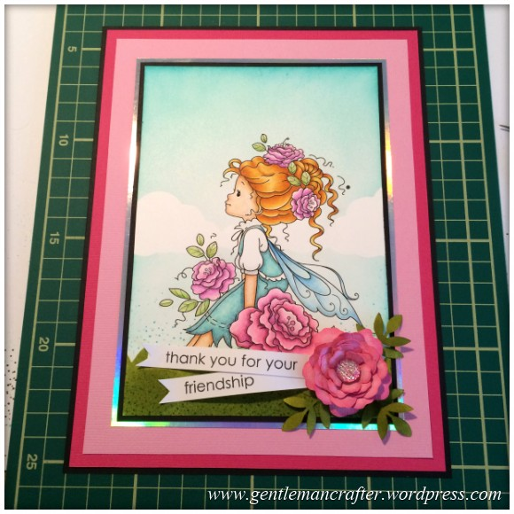 Monday Mash Up - Everybody Loves Another Fairy - Card Completed