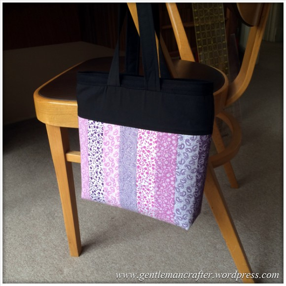 Fabric Friday - Fat Quarter Fun - Part 3 - Handbag 1