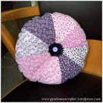 Fabric Friday - Fat Quarter Fun - Part 3 - Pie Wedge Cushion
