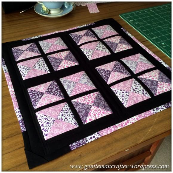Fabric Friday - Fat Quarter Fun - Part 3 - Quilt Block 3