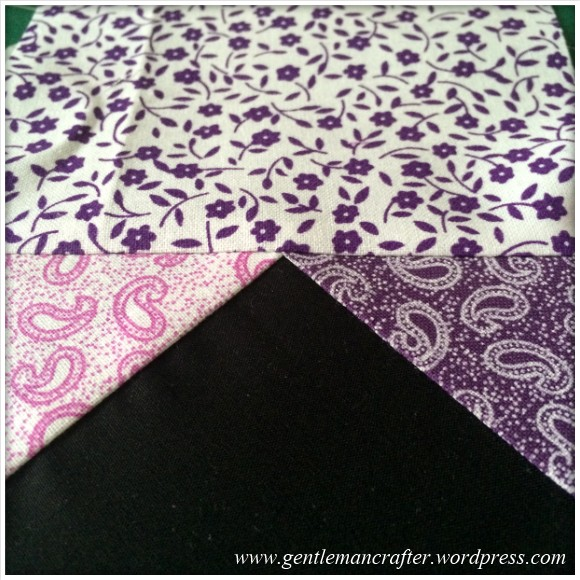Fabric Friday - Foundation Paper Piecing Playtime - 10 Finished Block 3