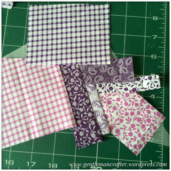 Fabric Friday - Foundation Paper Piecing Playtime - 18 Penultimate Step