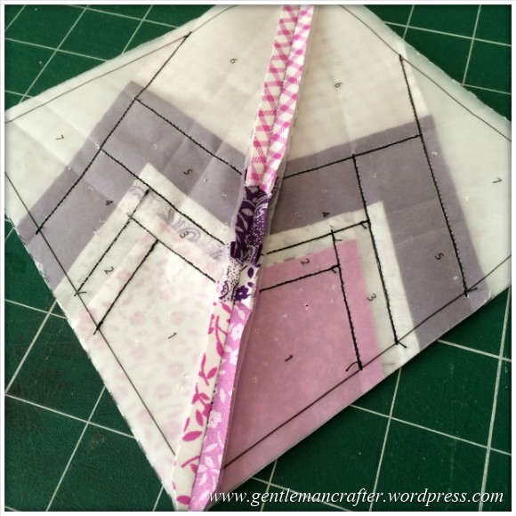 Fabric Friday - Foundation Paper Piecing Playtime - 20 Finished Quarter