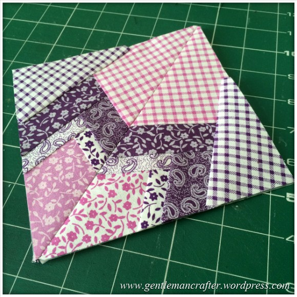 Fabric Friday - Foundation Paper Piecing Playtime - 21 Finished Quarter 2