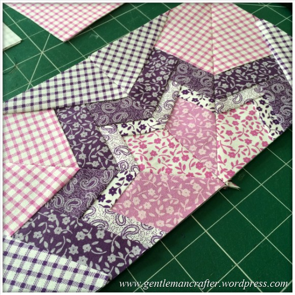 Fabric Friday - Foundation Paper Piecing Playtime - 22 Two Blocks Together