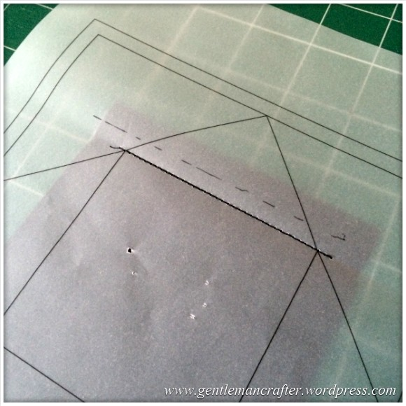 Fabric Friday - Foundation Paper Piecing Playtime - 3 First Stitches