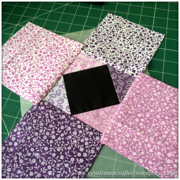 Fabric Friday - Foundation Paper Piecing Playtime - 6 Finished Stitching