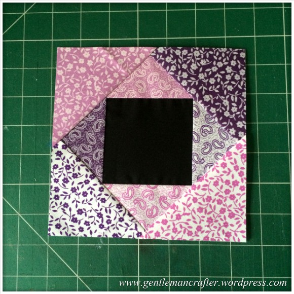 Fabric Friday - Foundation Paper Piecing Playtime - 8 Finished Block 1