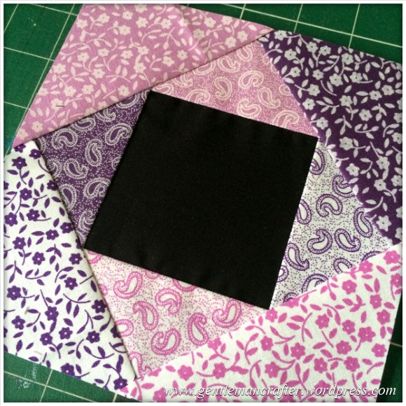 Fabric Friday - Foundation Paper Piecing Playtime - 9 Finished Block 2