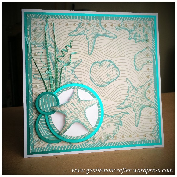 Monday Mash Up - A Coastal Quickie - Finished Card 4