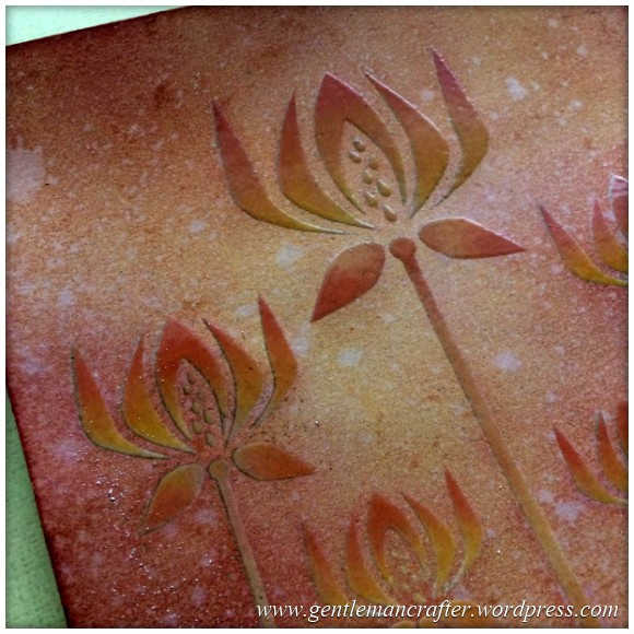 Monday Mash Up - Stencil Play Time - Versacolor Inks -  (5)
