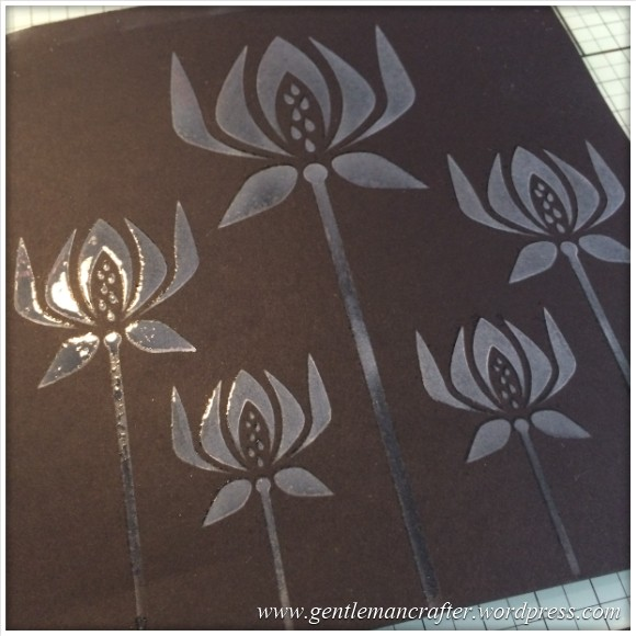 Monday Mash Up - Stencil Play Time - White On Black 2