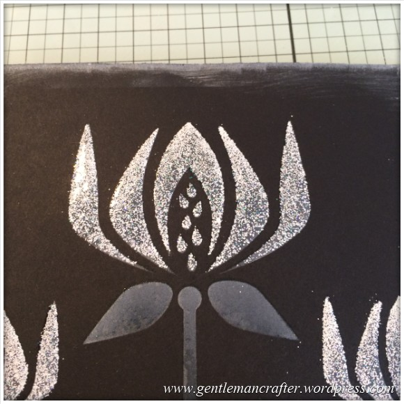 Monday Mash Up - Stencil Play Time - White On Black 5