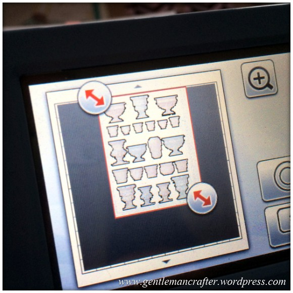 Scan It Saturday - Love Heart Swirly Frame Cutting File For The Brother Scan N Cut - Cutting The Flower Soft Vases 2