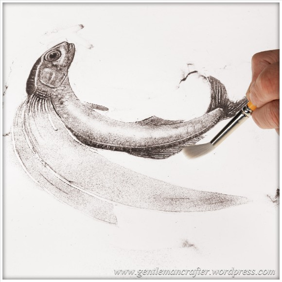 Worldwide Wednesday - Michael Janis - 3.frit.powder.drawing