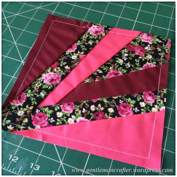 Fabric Friday - Further Adventures In Foundation Paper Piecing - 8