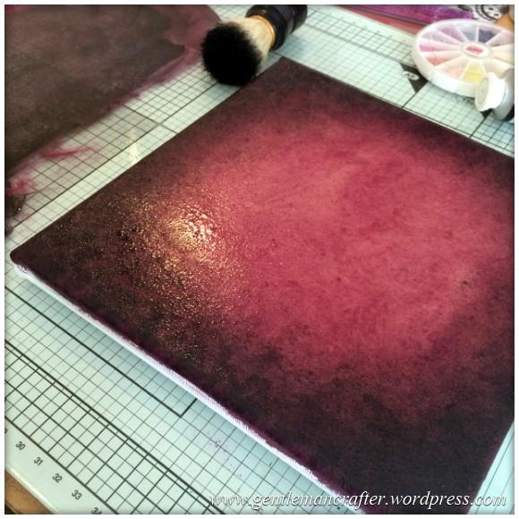 Monday Mash Up - A Cracking Canvas Creation - 1