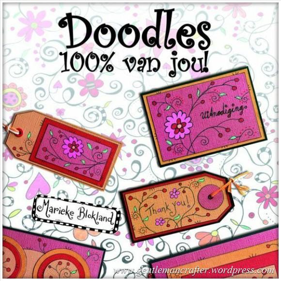 Worldwide Wednesday - Marieke Blokland - 4 - Doodles, Marieke's first book.