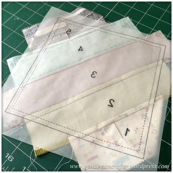 Fabric Friday - Foundation Paper Piecing Sew Along - 12
