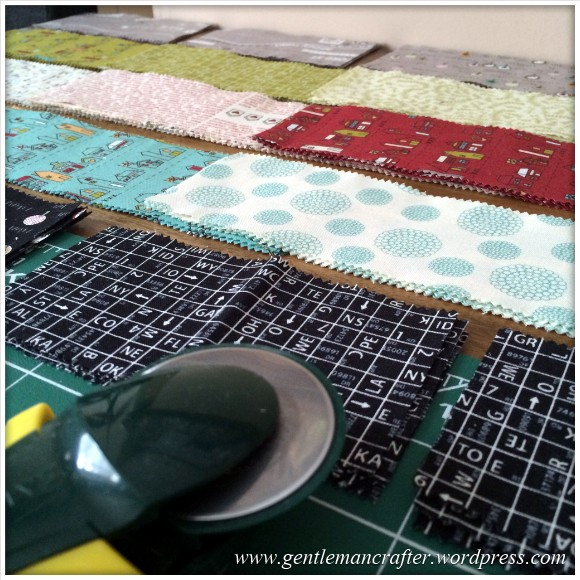 Fabric Friday - Foundation Paper Piecing Sew Along - 5
