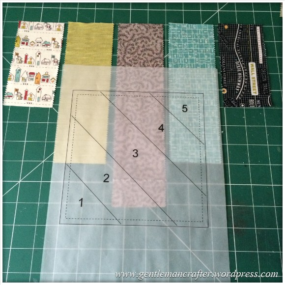 Fabric Friday - Foundation Paper Piecing Sew Along - 6