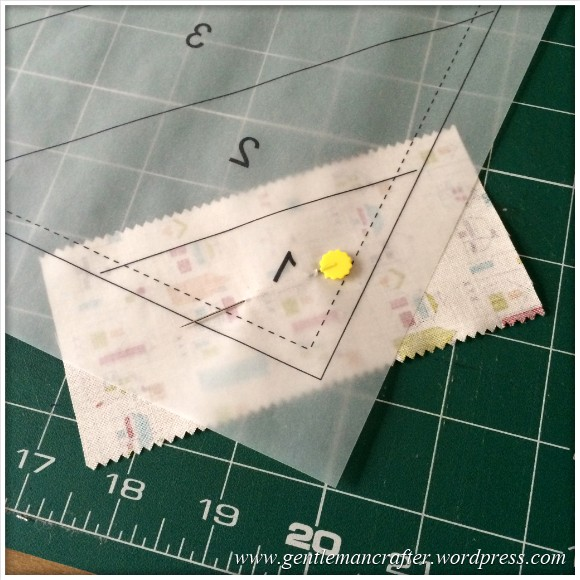 Fabric Friday - Foundation Paper Piecing Sew Along - 7
